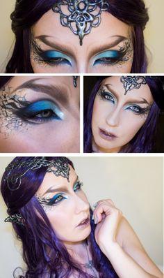 truebluemeandyou: Halloween & Cosplay DIYs — DIY Glue Gun Elvish Crown and Ears Tutorial from...