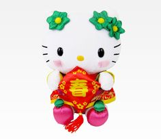 "Hello Kitty 9"" Lunar New Years Plush: Spring"