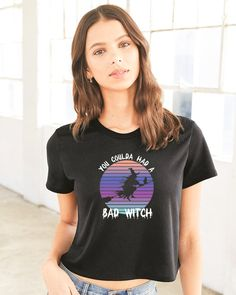 Bella + Canvas Tri Blend Tee Design Your Own, My Design, Design Ideas, The Worst Witch, Bella Canvas, Shirt Designs, T Shirts For Women, Tees, Halloween