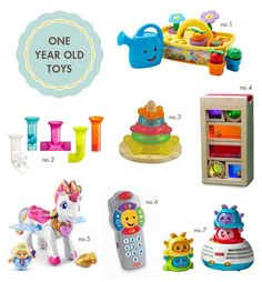 Great Gift Ideas For One Year Olds Old Toys