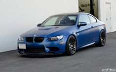 "#BMW M3 in ""frozen"" matte blue"