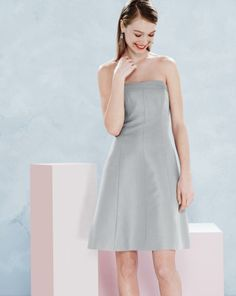 JUN '14 Style Guide: J.Crew Maisie dress in classic faille.