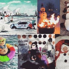 The calendar may say March, but we think snowmen are always cool. Comment to tell us your favorite from our Unfrozen contest. Calendar May, Welcome Aboard, Snowmen, March, Photo And Video, Videos, Instagram, Snowman, Mac