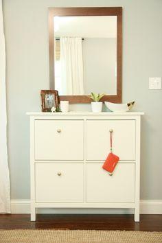 Ikea Hemnes Shoe Cabinet Renovation | Cool DIY ideas | Pinterest ...