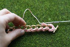 Crochet Bracelet Chain - Tutorial