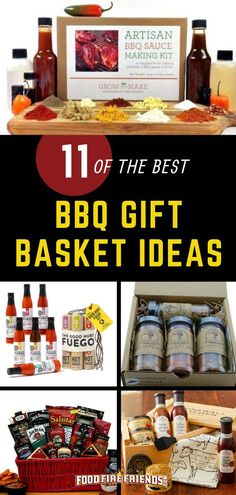 BBQ Gift Basket Ideas - For Fathers Day, Birthday, Christmas. Searching for that perfect gift for a BBQ lover? We have some fantastic ideas here in our guide to Bbq Gifts, Grilling Gifts, Vegan Bbq Recipes, Grilling Recipes, Food Gift Baskets, Birthday Bbq, Gifts For Cooks, Best Bbq, Gourmet Gifts