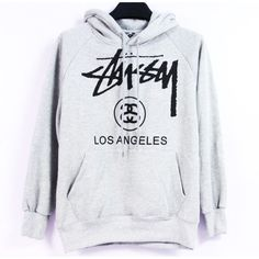 Keep warm with Stussy! Stussy Los Angeles Hoodie | http://streetwearmuse.com/outerwear/hoodies/stussy-los-angeles-hoody-collection-deepluxe-gray-1 #Stussy #hoodie #streetfashion #urbanwear #streetwear