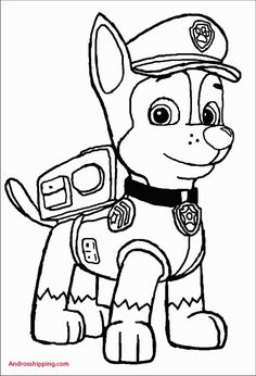 Paw Patrol Coloring Pages   Coloring Pages   Paw patrol ...