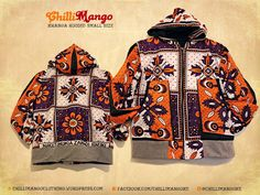 African Men's fashion & style CHillimango Clothing Hoodie