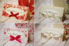 Winietki na stół Avril - Amelia wedding