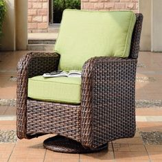 Retail $1099, Our Price $750. Outdoor Patio Furniture. South Sea Rattan Furniture w/ Sunbrella Fabric (St. Tropez- Swivel Glider).  www.wemakedirtlookgood.com  http://www.facebook.com/landscapelightinganddesign, http://www.facebook.com/southernlightsofnc, http://www.facebook.com& www.southernlightsofnc.com