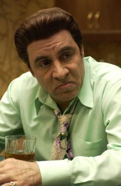 Silvio Dante on The Sopranos - as played by the legendary Steven Van Zandt