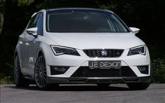 JE Design has introduced their new tuning program for the most powerful Seat Leon FR giving it increased performance, a sporty aerodynamic kit.......