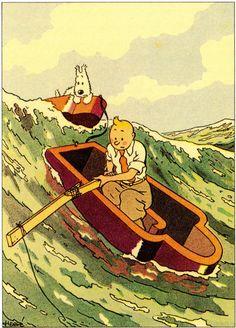 """Hergé - Tintin """"Les cigares du pharaon""""..."""
