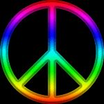 Peace gif animated