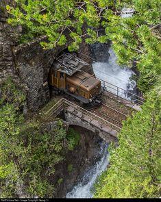 RailPictures.Net Photo: 415 RhB - Rhätische Bahn Ge 6/6 I at Davos Wiesen, Switzerland by Georg Trüb