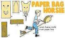 DIY Paper Bag Horsie
