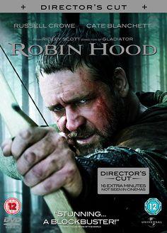 Robin Hood - Extended Director's Cut [DVD]: Amazon.co.uk: Russell Crowe, Cate Blanchett, Matthew MacFadyen, Kevin Durand, William Hurt, Mark Addy, Danny Huston, Scott Grimes, Oscar Isaac, Ridley Scott: DVD & Blu-ray