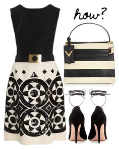 How simple by bibi-b on Polyvore featuring polyvore, fashion, style, Valentino and clothing