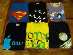 Lotto di camicia maglia T-shirt girocollo tg M/L