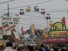 Ferris Wheel & Food