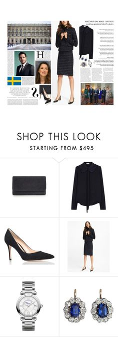 """Untitled #3196"" by duchessq ❤ liked on Polyvore featuring Chloé, Gianvito Rossi, Viktor & Rolf, Chopard and Vanity Fair"