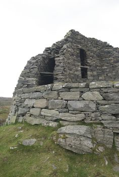 Dun Carloway, an Iron Age broch on the Isle of Lewis, Scotland