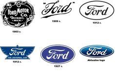 Logo amerykańskiego producenta aut praktycznie nie zmienia się od stu lat. Nazwa firmy pisana charakterystyczną czcionką jest znakiem rozpoznawczym Forda, jednak nie od początku działalności koncernu. Pierwsze logo powstało w 1903 r. i znacznie odbiegało od tego, które znamy obecnie.
