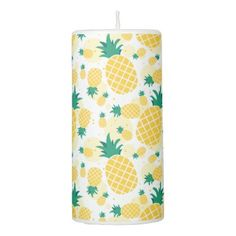 Trendy Pineapple Pillar Candle - trendy gifts cool gift ideas customize
