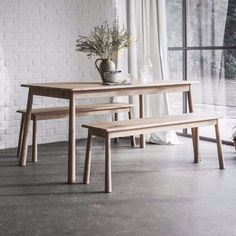 Hudson Living Wycombe Dining and Bench Set - Modish Living Dining Sets - Reclaimed wood dining sets