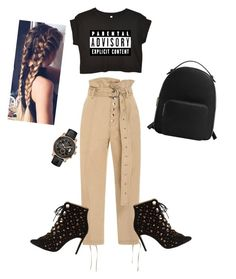 """Untitled #137"" by lindacorp on Polyvore featuring Marissa Webb, Bionda Castana, MANGO and GUESS"