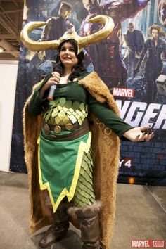 Loki cosplayer at Fan Expo 2012