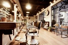 best photo of King's Domain Barber Shop, Melbourne  http://earth66.com/room/kings-domain-barber-shop-melbourne/