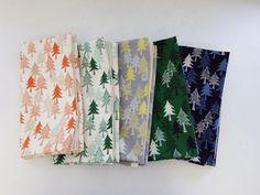 ▲綿(コットン) - 商品詳細 オックスプリント ねむりの森 108cm巾/生地の専門店 布もよう