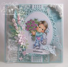 They just keep getting more & more charming!! Bouquets of Love - Simon Says Stamp Blog