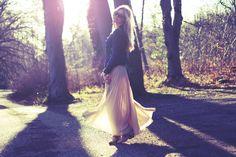 Twirling around in the sun!  passionsforfashion.dk
