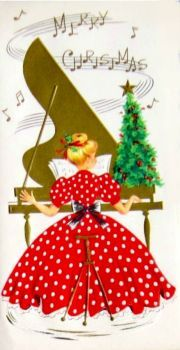 Old Christmas Card — Vintage Old Time Christmas, Old Fashioned Christmas, Christmas Music, Retro Christmas, Christmas Crafts, Christmas Playlist, Vintage Christmas Images, Vintage Holiday, Christmas Pictures