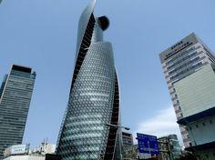 Спиральная башня – #Япония #Нагоя (#JP) Mode Gakuen Spiral Towers - нехилое такое японское ПТУ! http://ru.esosedi.org/JP/places/1000126281/spiralnaya_bashnya/