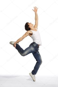 Modern style dancer - Stock Photo , #AFFILIATE, #style, #Modern, #dancer, #Photo #AD Photographers Near Me, Aerobics, Stunts, Birds In Flight, Gymnastics, Dancer, Exercise, Poses, Stock Photos