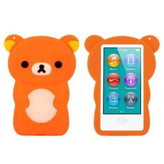 Happy Bear (Oransje) iPod Nano 7 Deksler First Apple Product, Ipad Nano, Xbox Controller, Apple Products, Workout Videos, Ipod, Smartphone, Bear, Cover