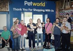Pet adoption day with Cara Rescue in Petworld Portlaoise last Sunday