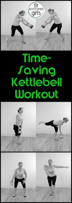 A time- and space-saving kettlebell workout from the fitness ICON Gin Miller.