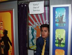 Nick Pitera disappointed :)... out of service photobooth