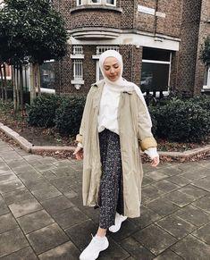 Modern Hijab Fashion, Street Hijab Fashion, Hijab Fashion Inspiration, Muslim Fashion, Modest Fashion, Fashion Outfits, Modest Wear, Modest Dresses, Modest Outfits