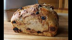 No-Knead Cinnamon Raisin Bread (updated) super easy… no machines - YouTube