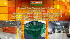 We custom build sturdy , durable, heavy duty pallet racks, racking systems, mezzanines and much more ! Contact us today for a free no obligation quote! 909-793-5914 www.industrialstoragesolutionsinc.com