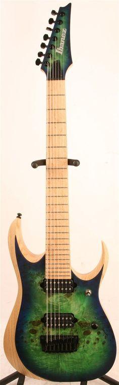 #guitar Ibanez RGDIX7MPB Iron Label Electric Guitar Surreal Blue Burst please retweet