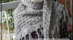 Quick and easy, this sophisticated-looking shawl is perfect for cold winter days.CloudBurst Shawl by Tuesday Fortnite is one of the fastest shawl patterns ever. With an average of 3 hours, this absolutely fabulous triangular shawl is one of the most fun and satisfying crochet project you've ever done. This shawl crochet pattern makes a great …