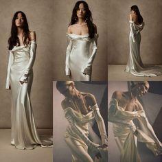 Glam Dresses, Elegant Dresses, Pretty Dresses, Beautiful Dresses, Fashion Dresses, Mode Ootd, Fantasy Gowns, Mode Inspiration, Dream Wedding Dresses