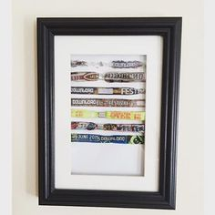 Fantastic creative way to display your festival wristbands! Thank you @harricolley for sharing it with us. So simple but really effective. #hobbycraft #festival #wristbands #hchandmade